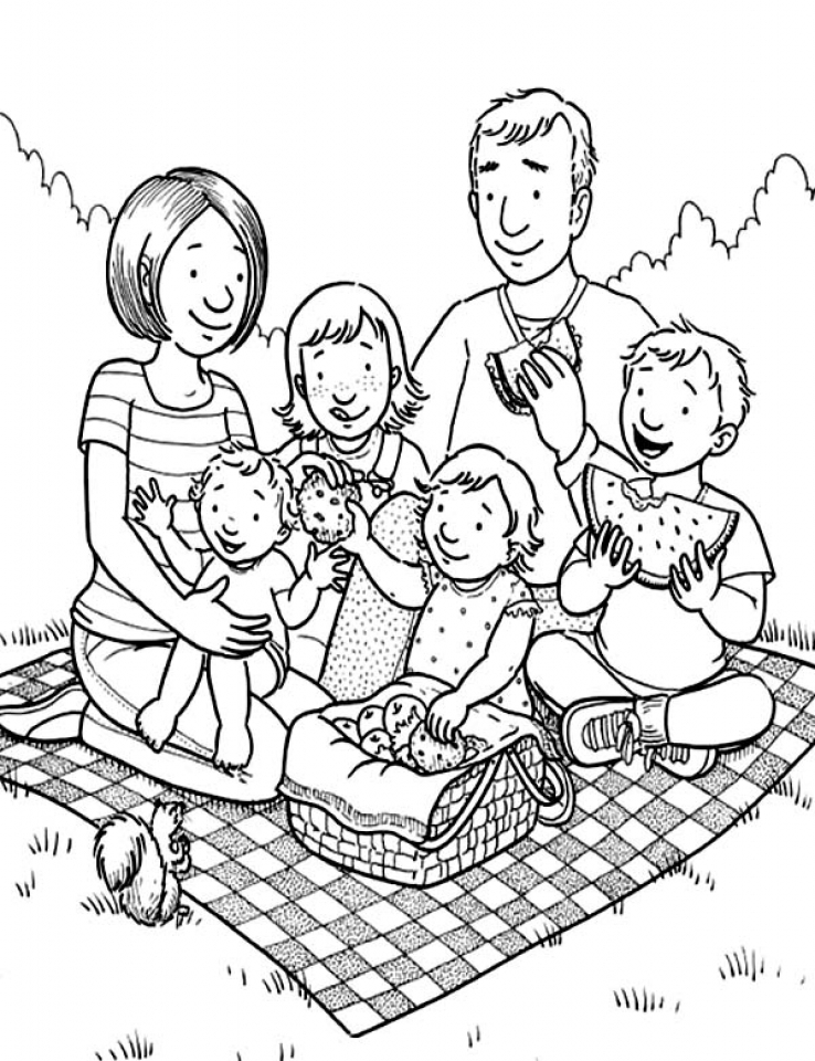 coloring family picture get this free simple family coloring pages for children family picture coloring