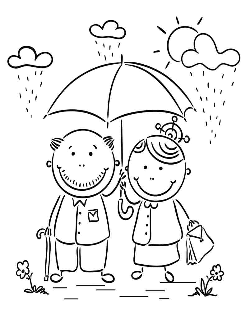 coloring family picture my family drawing at getdrawings free download picture coloring family