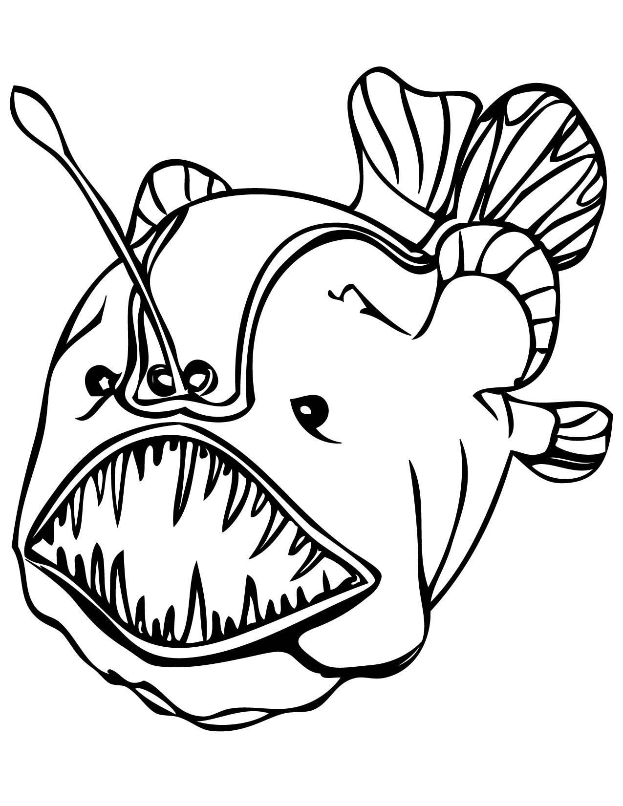 coloring fish pages print download cute and educative fish coloring pages fish pages coloring
