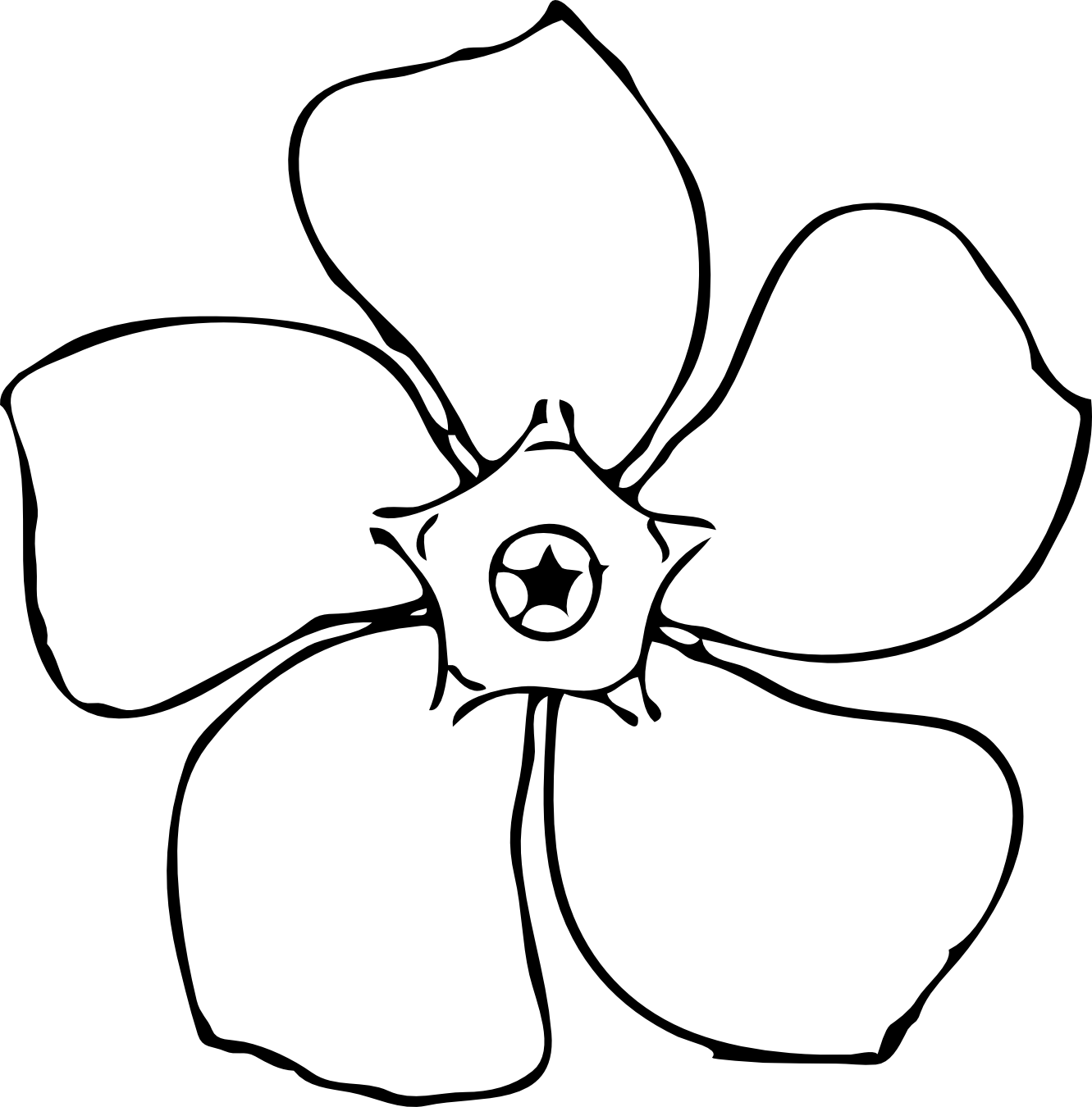 coloring flower clipart black and white gambar black and white clipart oleh enosartcom gambar clipart flower black and white coloring