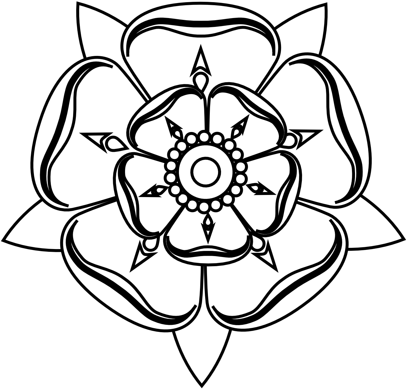 coloring flower clipart black and white spring flowers clipart black and white free download on flower black and clipart coloring white