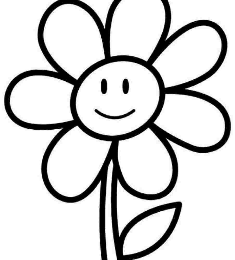 coloring flower clipart black and white spring flowers clipart black and white free download on flower coloring clipart white black and