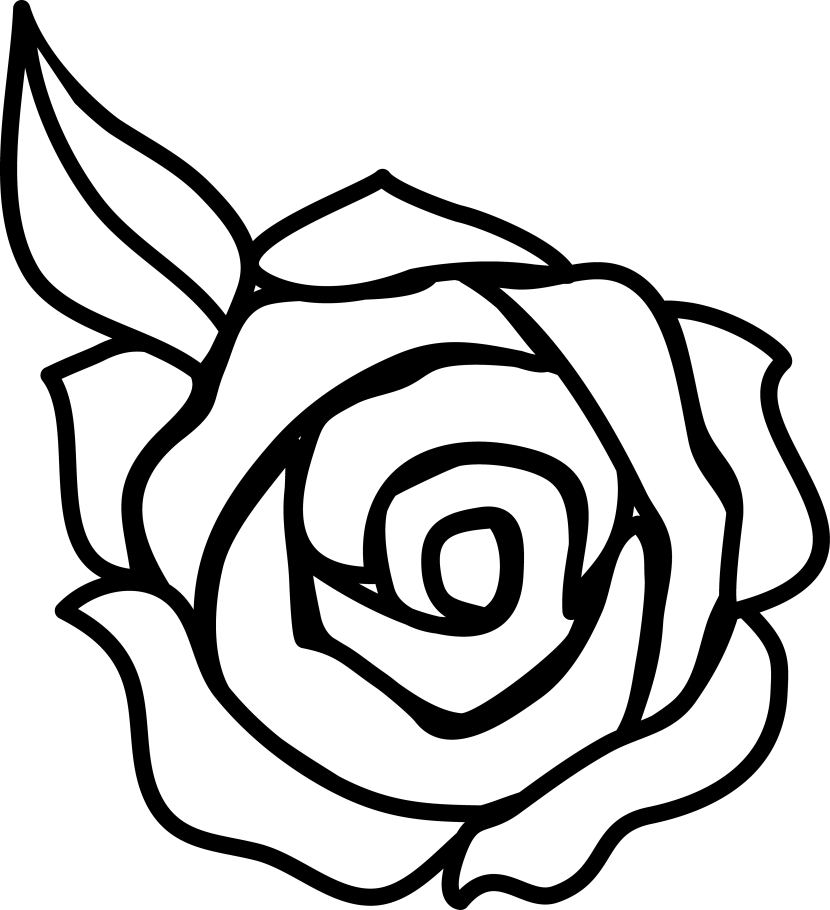 coloring flower clipart black and white sun and flower coloring pages printable for kids free clipart black flower white and coloring