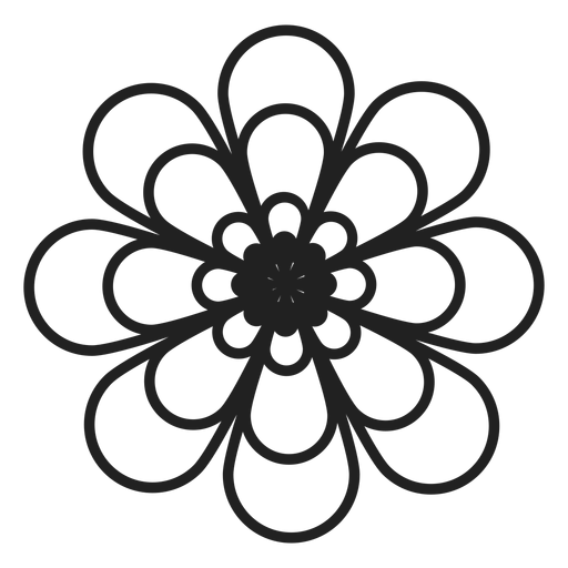 coloring flower png black and white colorable sunflower free clip art flower coloring png