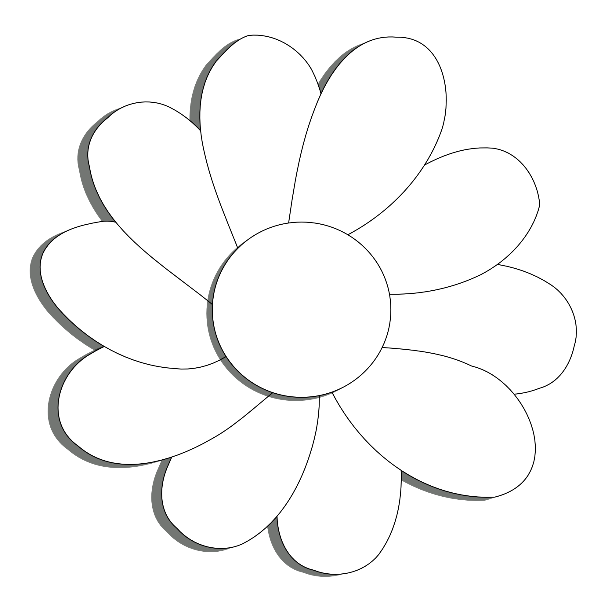 coloring flower png plant clipart black and white clipart panda free coloring png flower