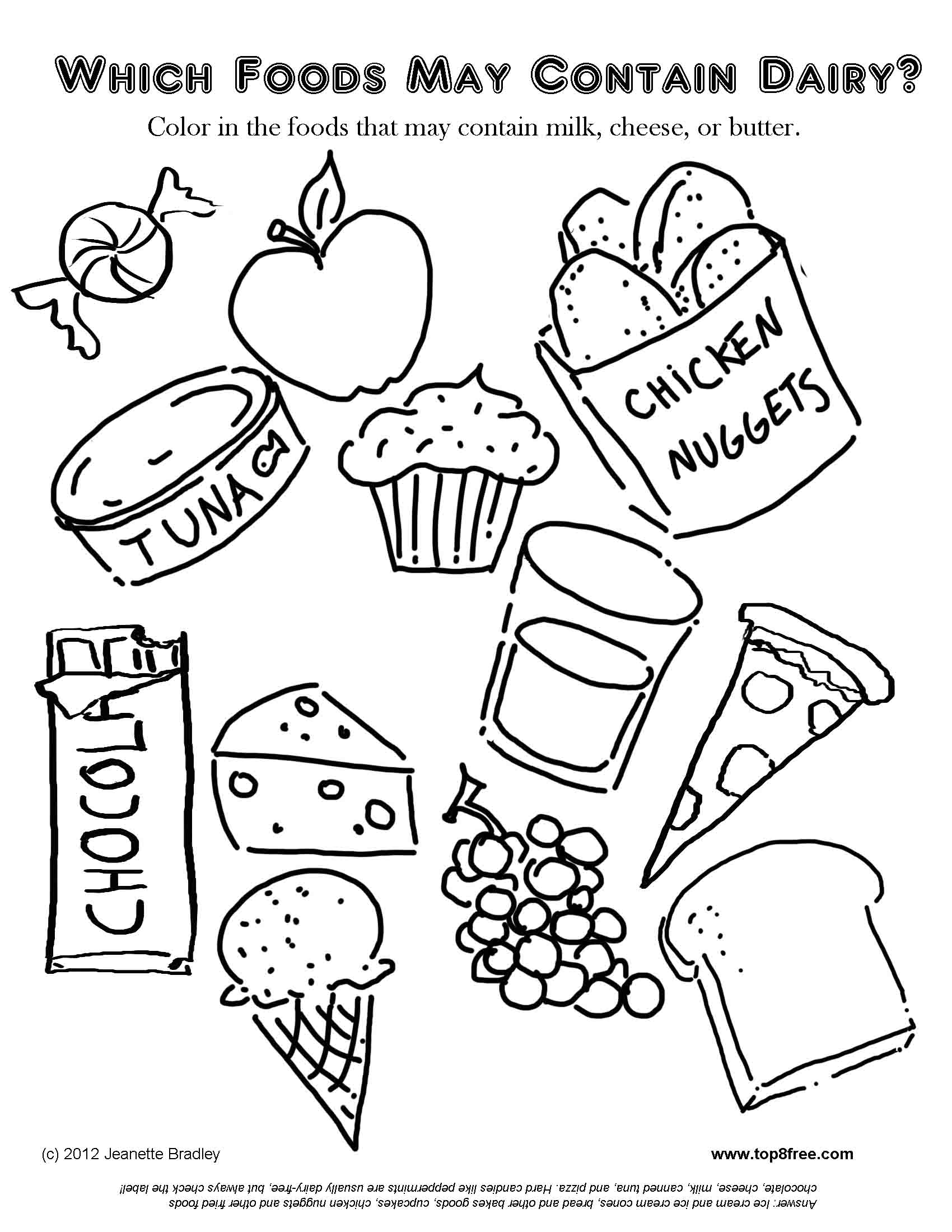 coloring food for kids dessert coloring pages to download and print for free for food coloring kids