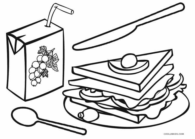 coloring food for kids free printable food coloring pages for kids cool2bkids kids coloring food for