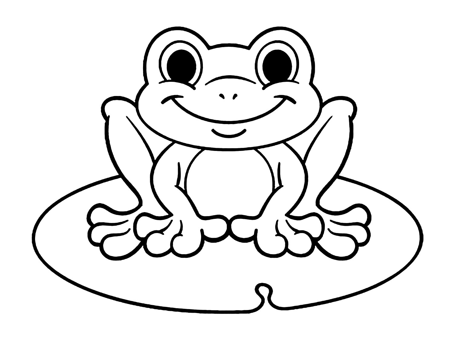 coloring frog outline images cute frog coloring page free clip art outline coloring frog images