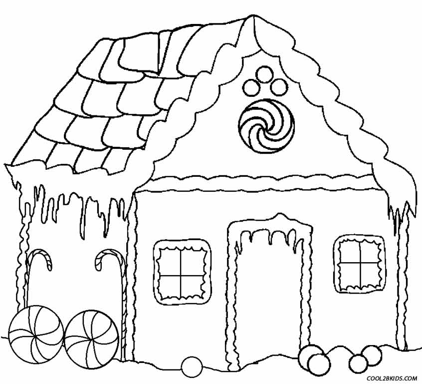 coloring gingerbread house 30 free gingerbread house coloring pages printable coloring house gingerbread