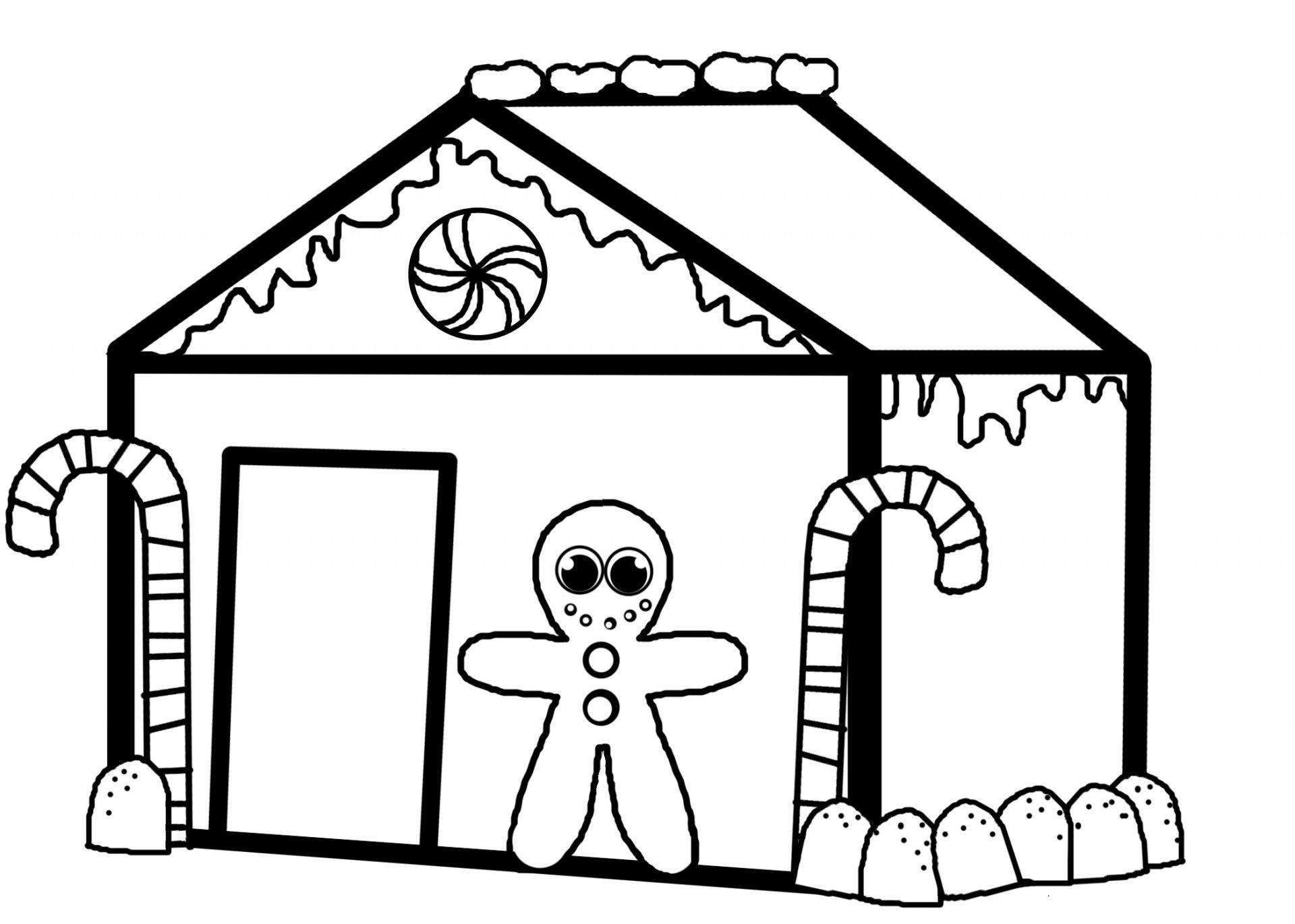 coloring gingerbread house free printable gingerbread house coloring pages for kids house gingerbread coloring