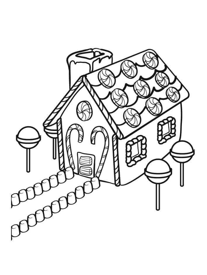 coloring gingerbread house gingerbread house coloring pages educative printable gingerbread house coloring