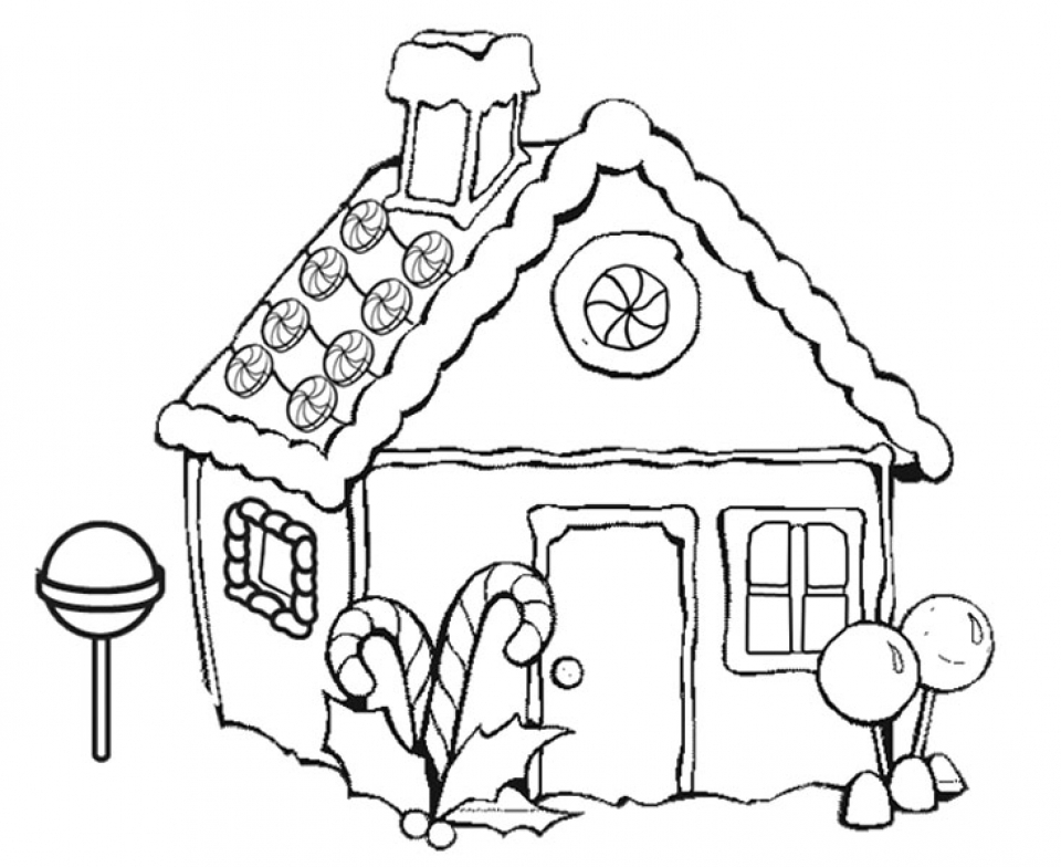 coloring gingerbread house gingerbread house coloring pages to download and print for coloring gingerbread house