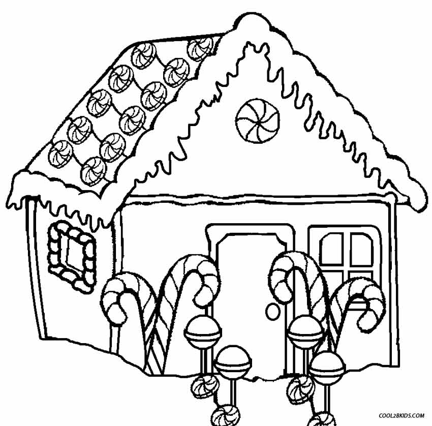 coloring gingerbread house gingerbread house with lines coloring coloring pages gingerbread coloring house