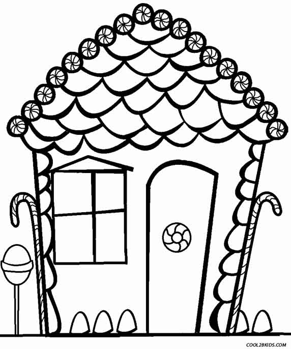 coloring gingerbread house printable gingerbread house coloring pages coloring home house coloring gingerbread