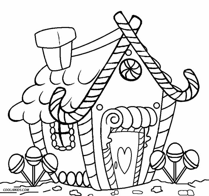coloring gingerbread house printable gingerbread house coloring pages for kids gingerbread house coloring