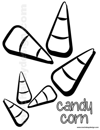 coloring halloween candy corn candy corn coloring page halloween coloring corn candy