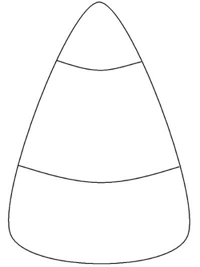 coloring halloween candy corn candy corn template printable in 2020 pictures of candy coloring corn halloween candy