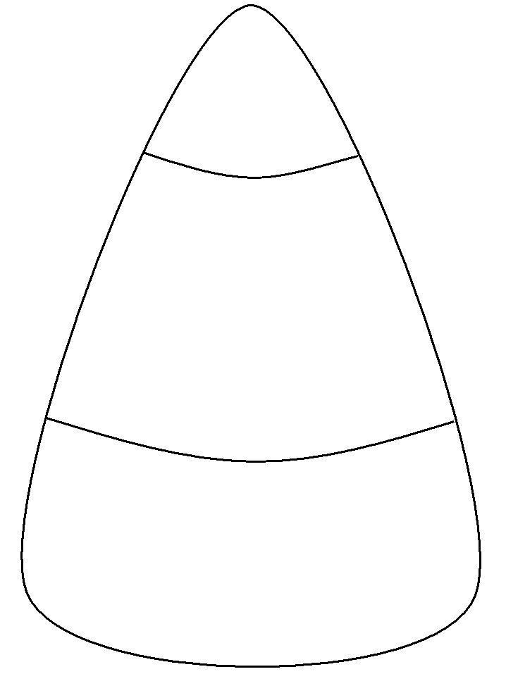 coloring halloween candy corn trace the candy corn coloring page twisty noodle corn candy coloring halloween