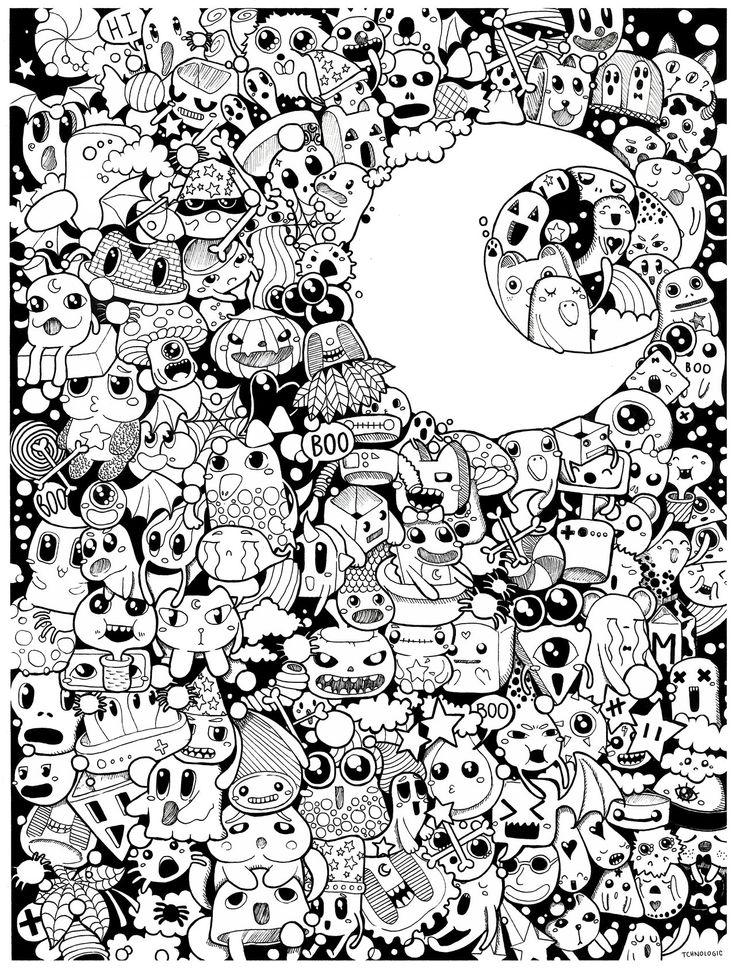 coloring halloween doodle pages halloween coloring pages doodle art alley coloring halloween pages doodle