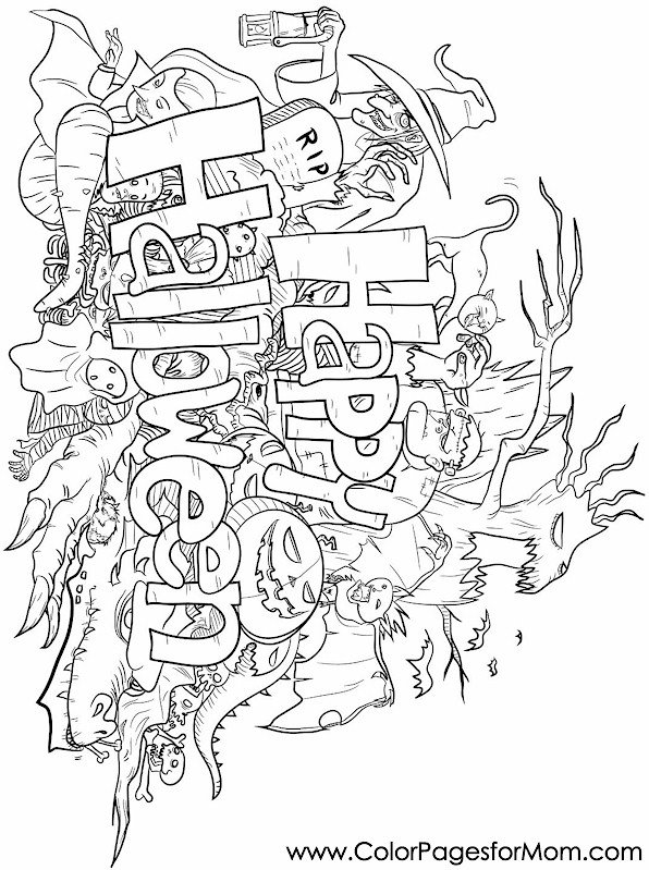 coloring halloween doodle pages halloween coloring pages smac39s place to be doodle halloween coloring pages
