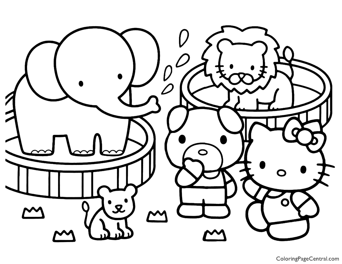 coloring hello kitty hello kitty coloring page 16 coloring page central coloring kitty hello