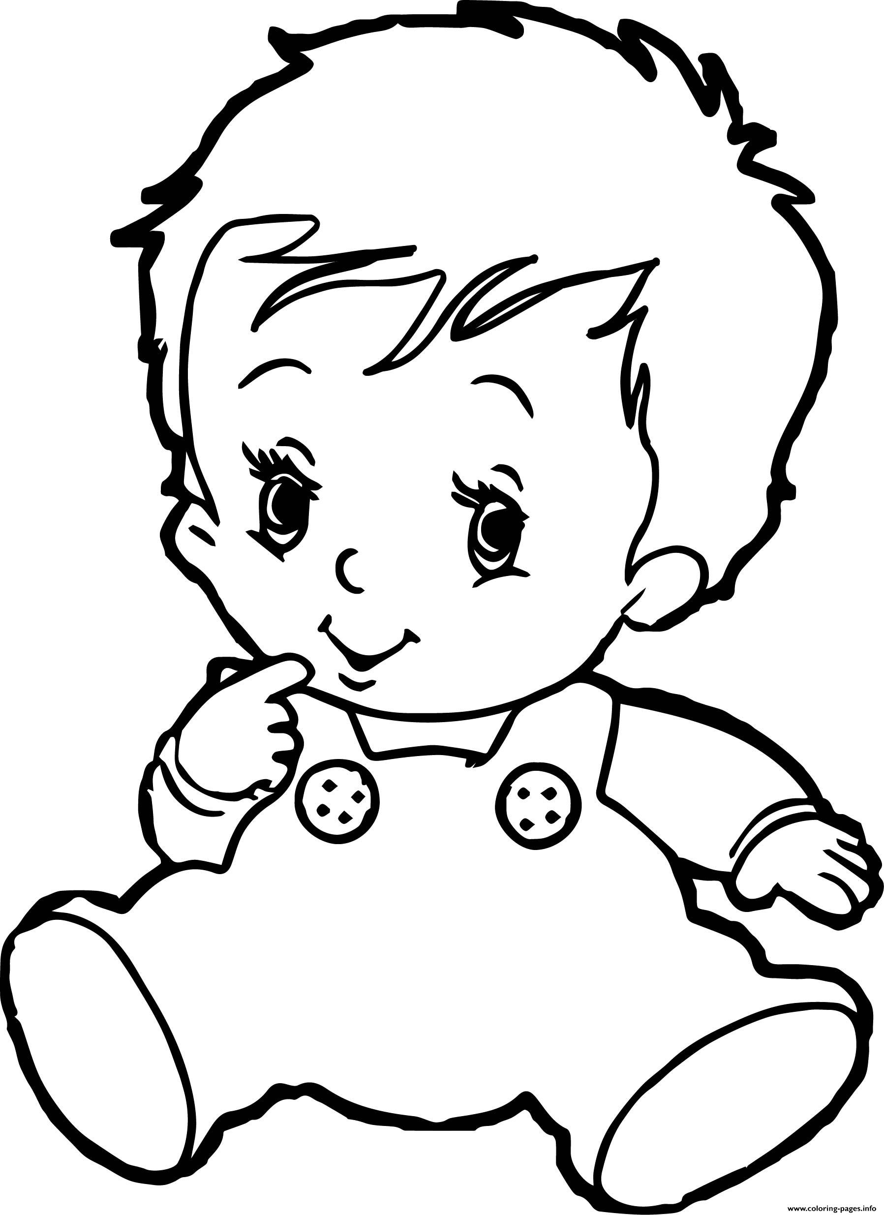 coloring image of boy cute boy baby coloring pages printable boy of image coloring
