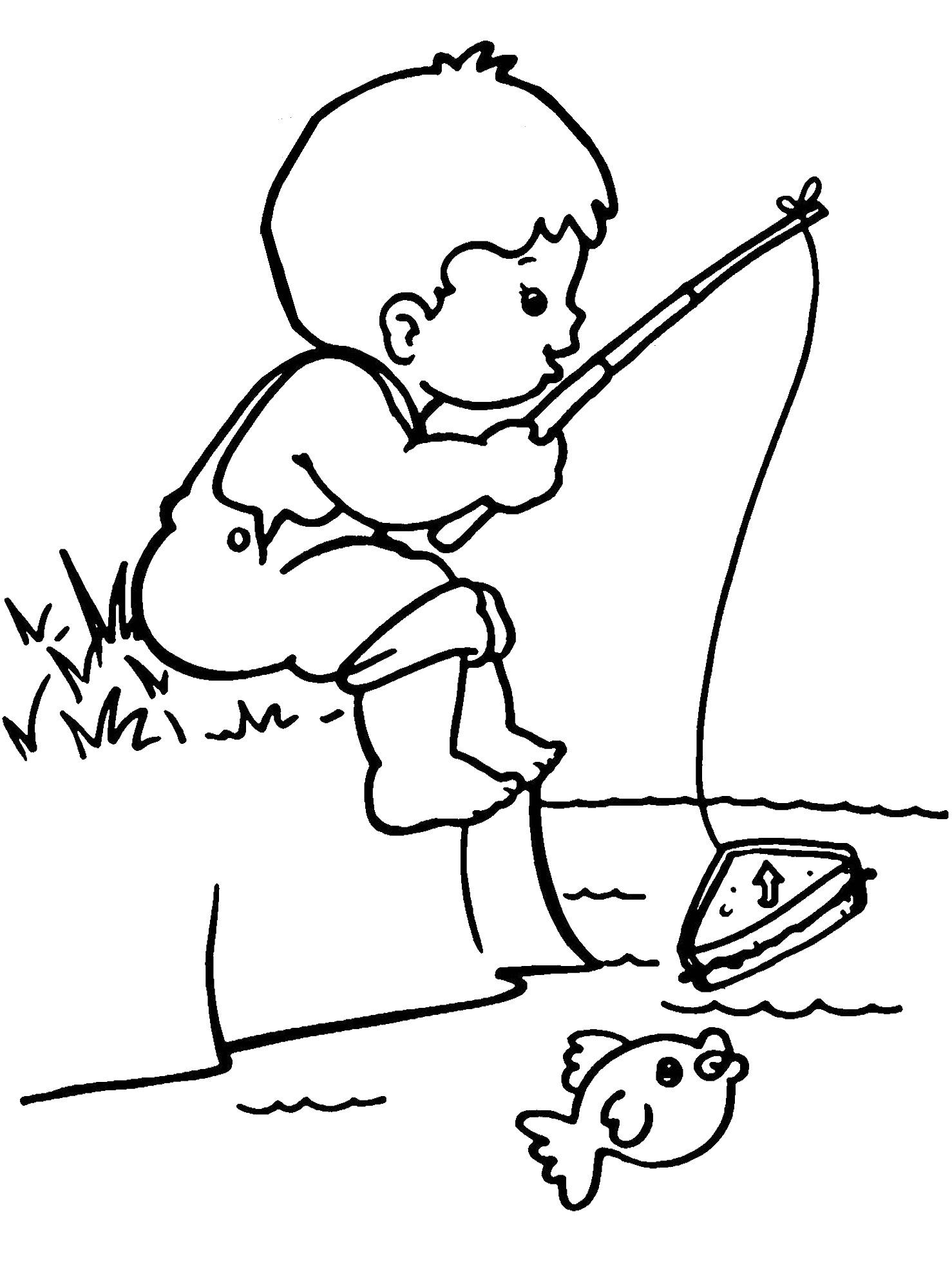 coloring image of boy free printable boy coloring pages for kids coloring of boy image 1 1
