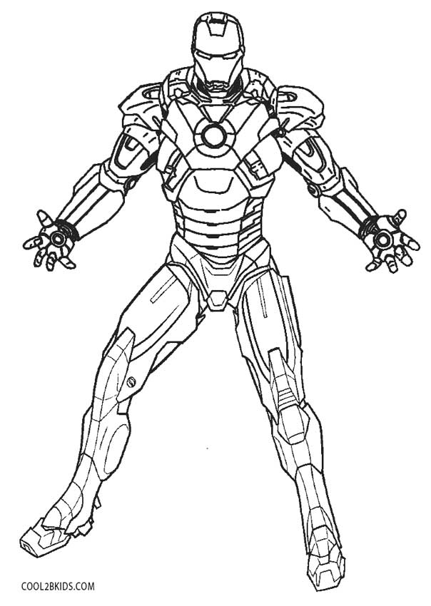 coloring iron man outline free printable iron man coloring pages for kids coloring man outline iron