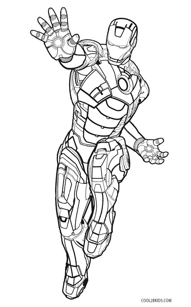coloring iron man outline free printable iron man coloring pages for kids outline man coloring iron
