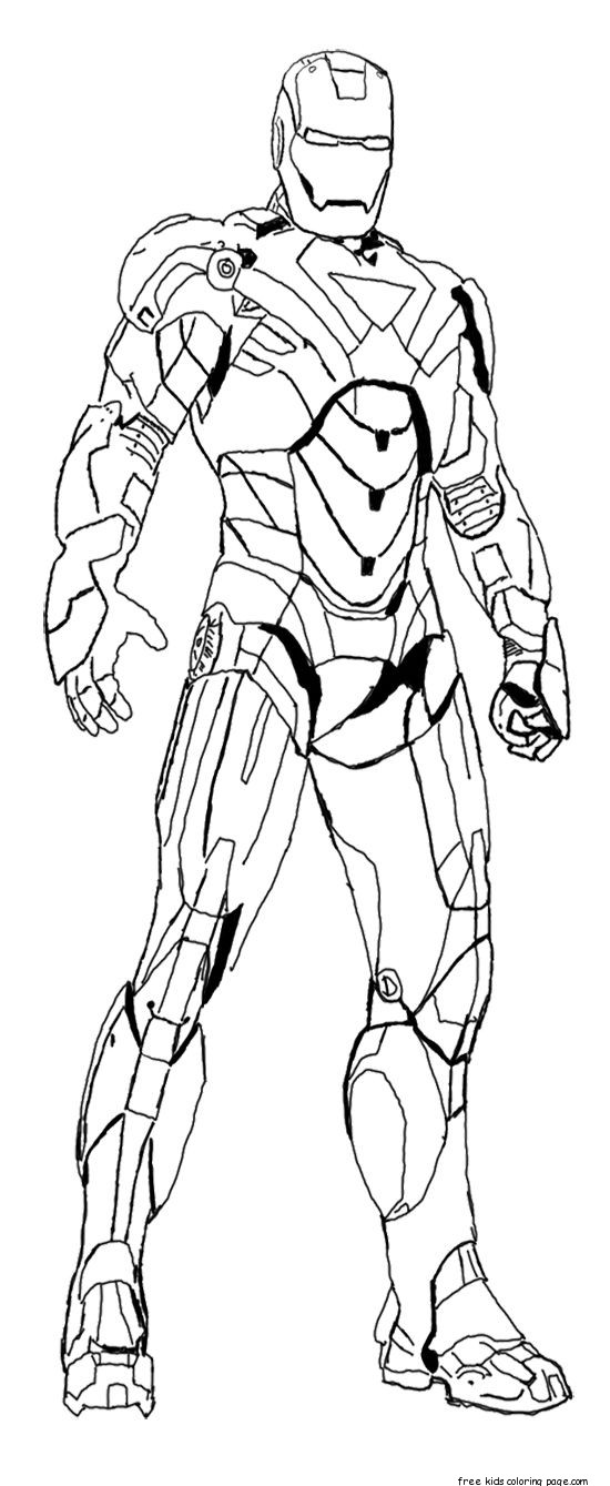 coloring iron man outline get this free ironman coloring pages to print 18251 outline iron coloring man