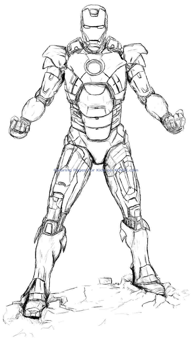 coloring iron man outline iron man outline drawing at getdrawings free download iron man outline coloring