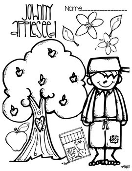 coloring johnny appleseed johnny appleseed coloring page by d conway teachers pay johnny coloring appleseed