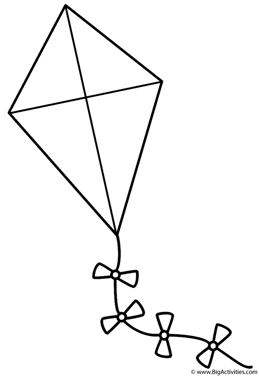 coloring kite images black and white big kite coloring page print color fun white images coloring and kite black