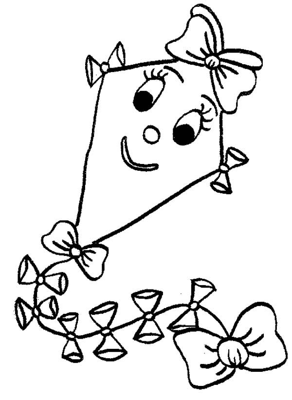 coloring kite images black and white three kites clipart etc images coloring and kite white black