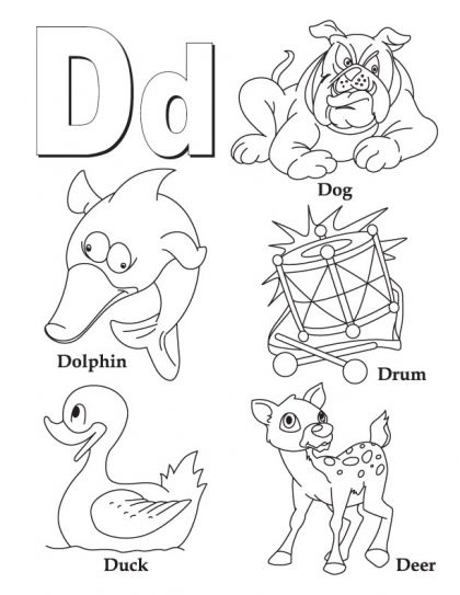 coloring letter d worksheets letter d coloring pages to download and print for free coloring worksheets d letter