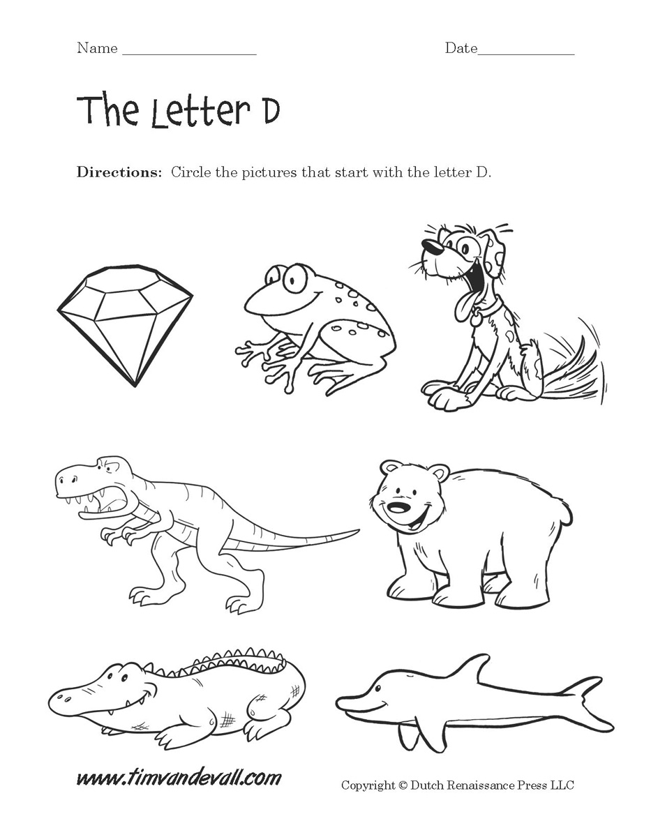 coloring letter d worksheets letter d daisy lesson plan printable activities poster d letter coloring worksheets