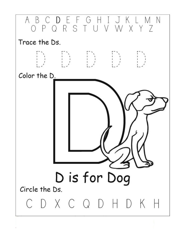 coloring letter d worksheets my a to z coloring book letter d coloring page worksheets d letter coloring