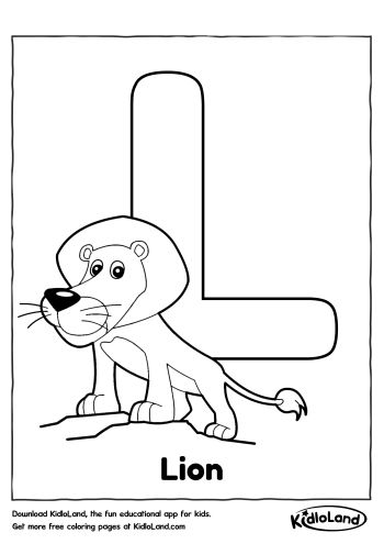 coloring letter l objects letter l coloring page alphabet objects letter coloring l