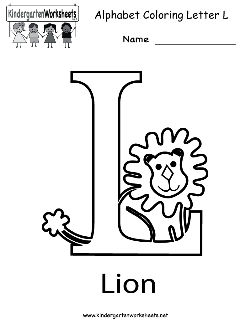 coloring letter l objects preschool alphabet coloring pages free numbers pokemon objects l coloring letter