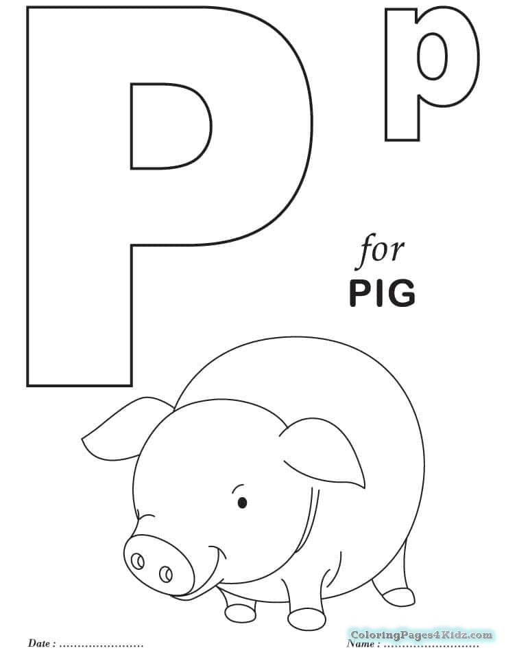 coloring letter p printable free alphabet coloring sheet letter p coloring letter printable p
