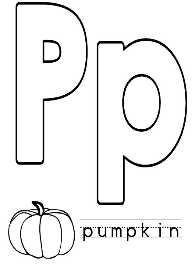 coloring letter p printable letter p coloring pages to download and print for free coloring printable p letter