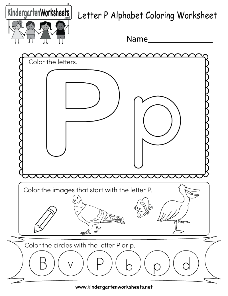 coloring letter p worksheets lowercase letter p coloring page for kindergarten free coloring letter p worksheets