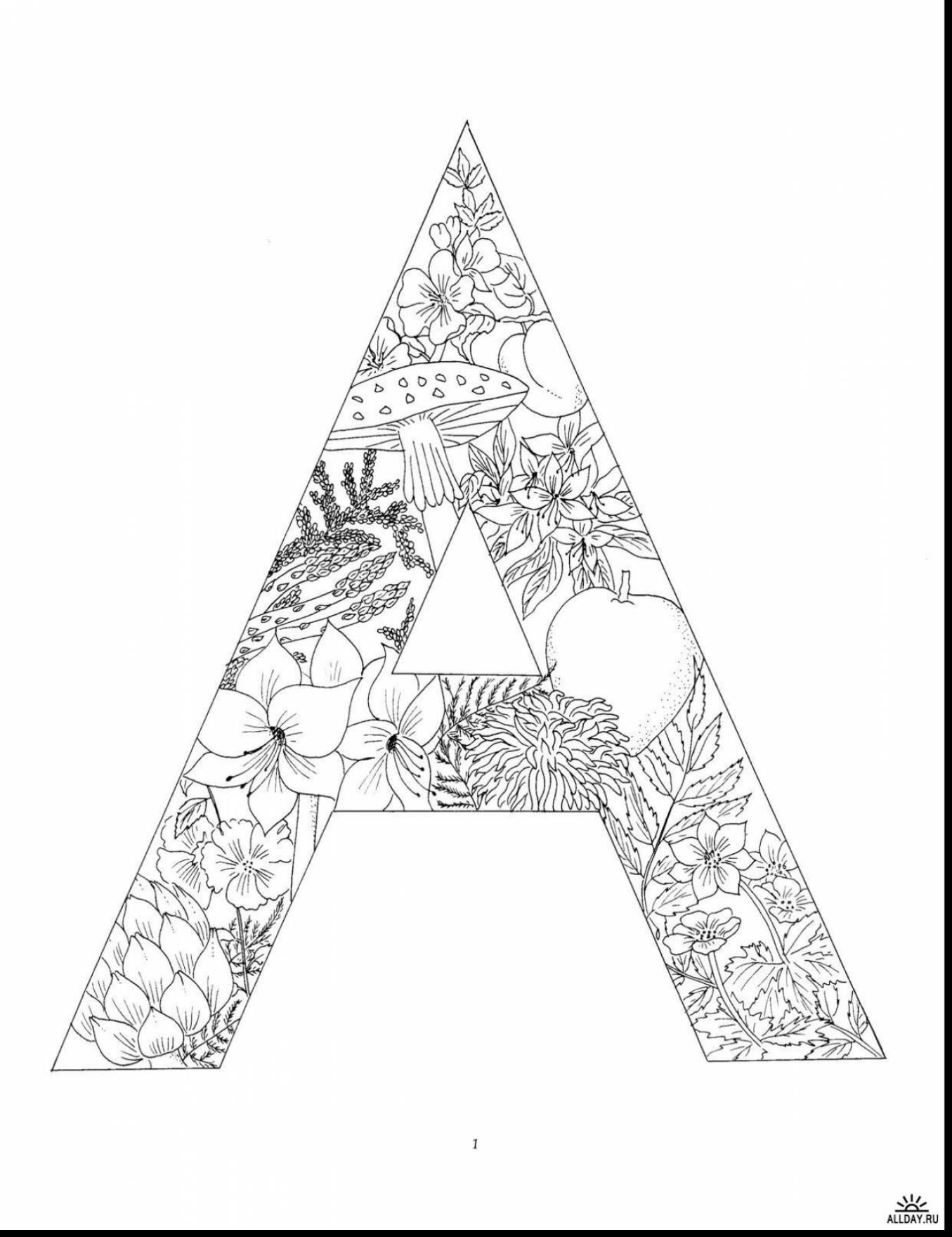 coloring letters a z alphabet coloring pages download and print for free letters coloring
