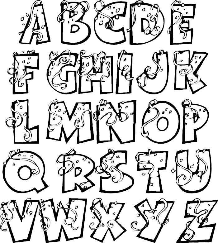coloring letters free 18 alphabet coloring pages in ai letters coloring