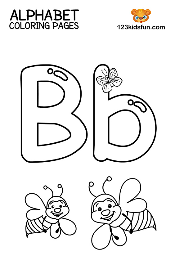 coloring letters free printable alphabet coloring pages for kids 123 kids coloring letters 1 2