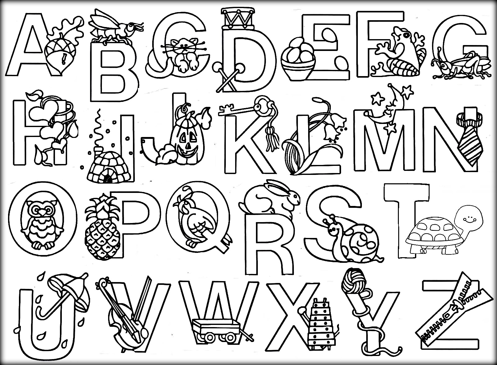 coloring letters free printable alphabet coloring pages for kids 123 kids coloring letters 1 3