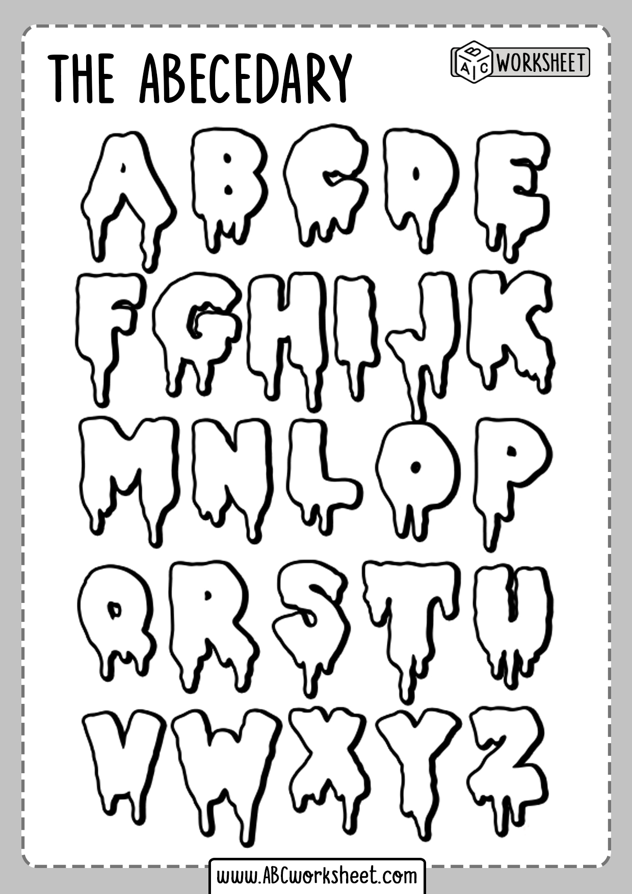 coloring letters free printable alphabet coloring pages for kids 123 kids coloring letters 1 5