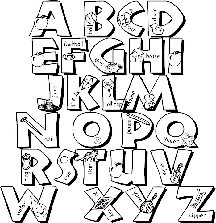 coloring letters free printable alphabet coloring pages for kids best coloring letters