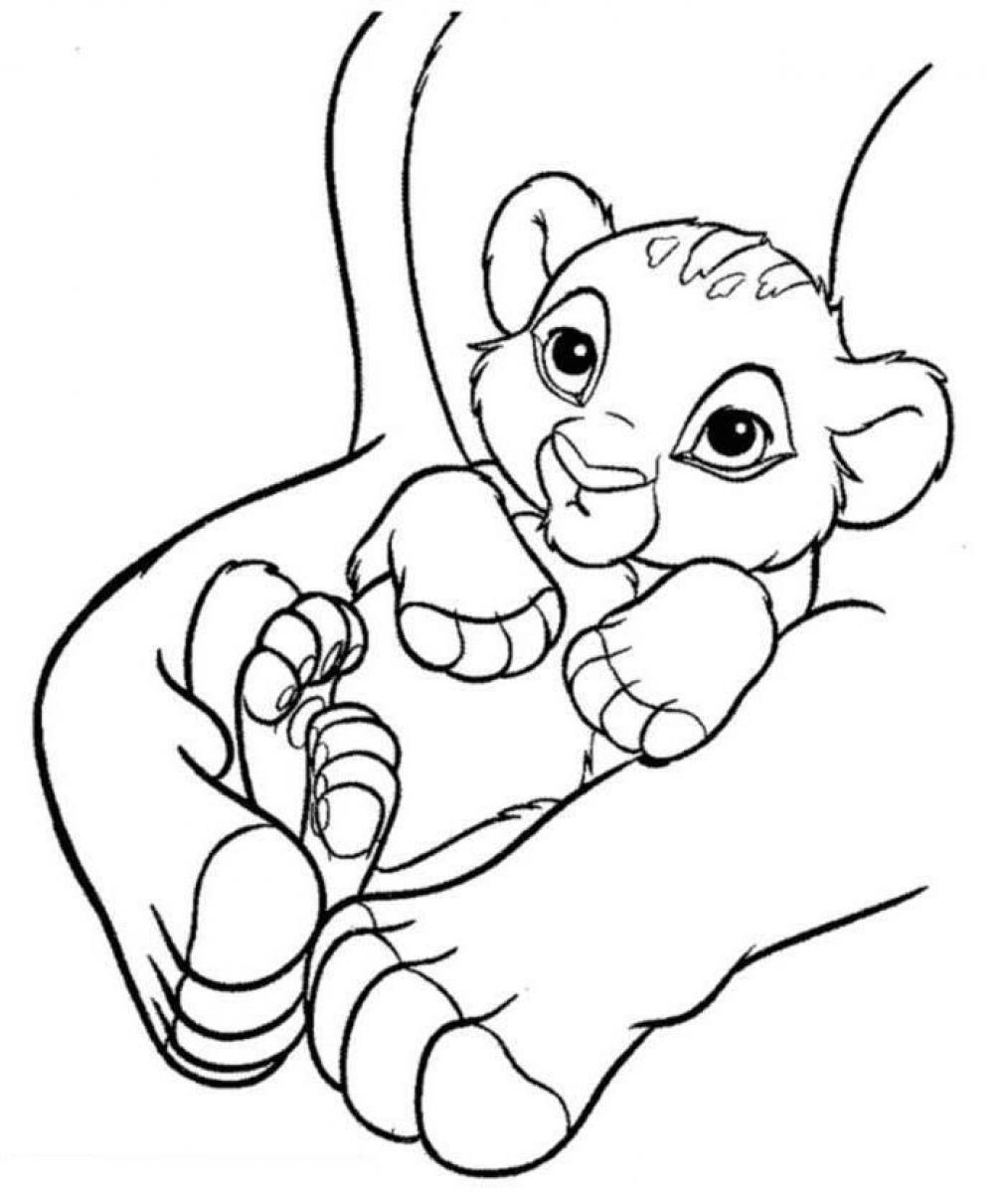 coloring lion king simba simba coloring pages to download and print for free simba coloring lion king