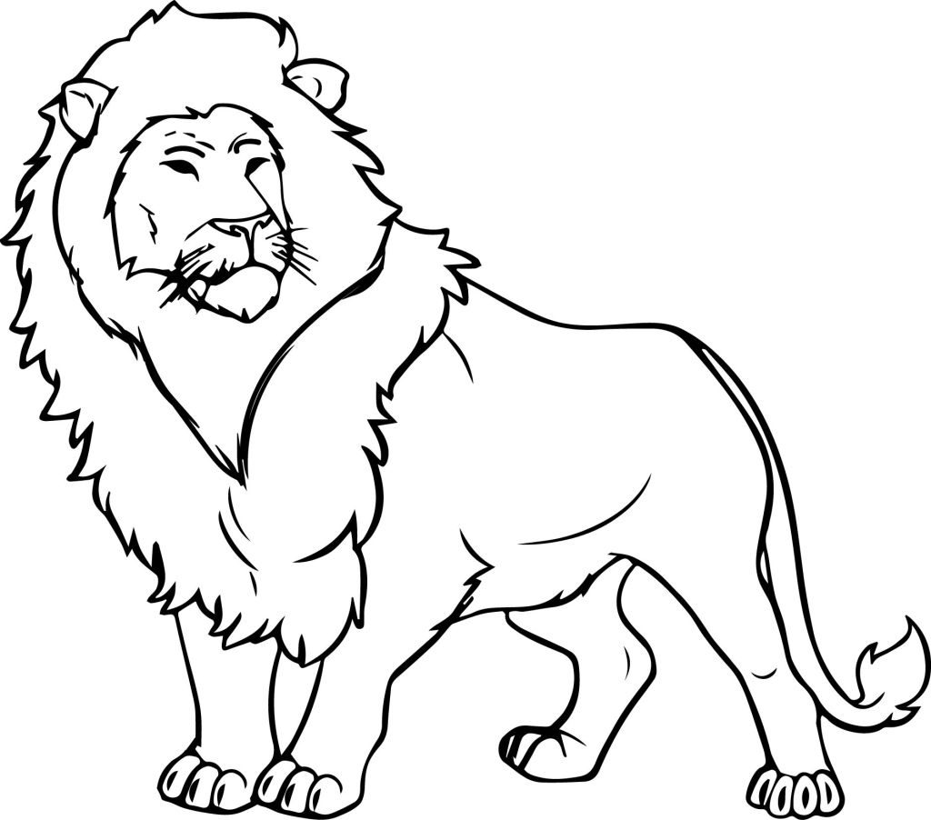 coloring lion pages free printable lion coloring pages at getdrawings free pages lion coloring